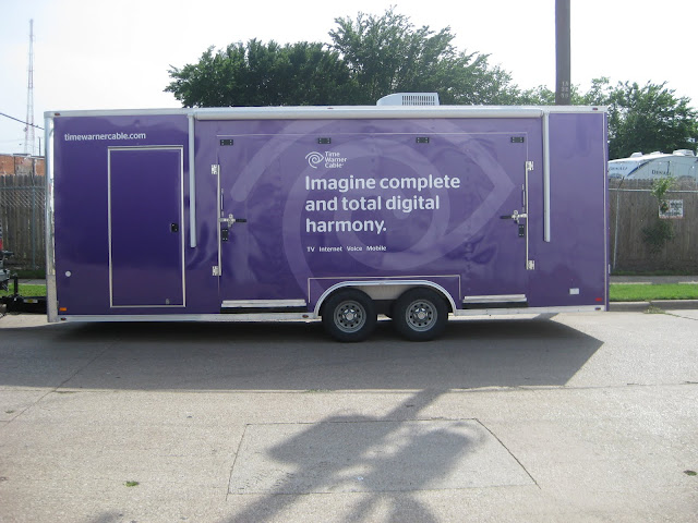 Trailer Wrap for Time Warner Cable