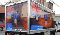 New York Box Truck Wrap