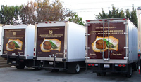 Truck Wrap Advertising Larsen's Steakhouse