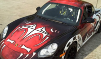 Custom Vehicle Wrap- Porsche in LA