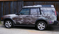 New York Car Wrap on SUV