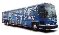 Coach Bus Wraps for Trans Express