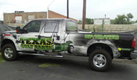 Custom Truck Wraps Woodway TX