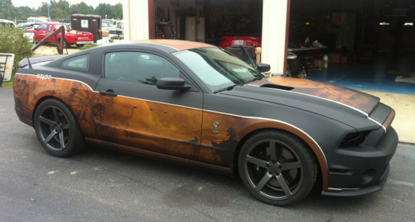 Custom car wrap, Florida