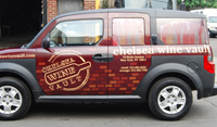 Honda Element Vehicle Wrap