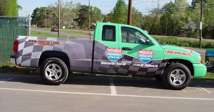 Truck-wrap-Nourse-Interstate-Automall-Richburg, SC