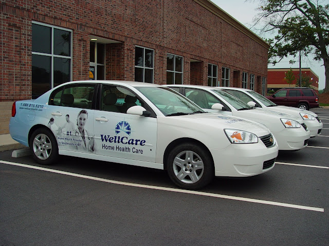 Vehicle Wraps Partials for Wellcare in Wilmington, NC