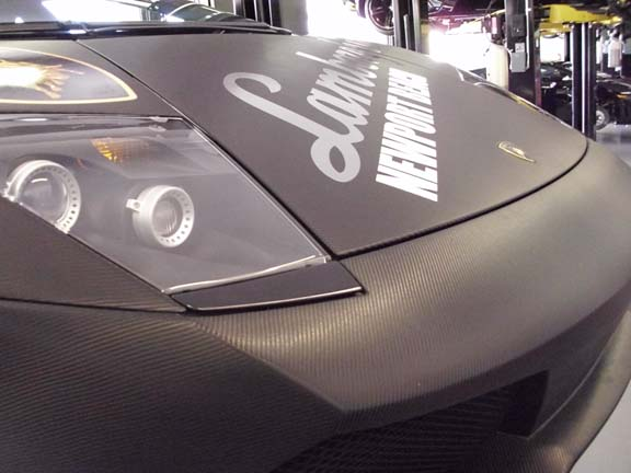 Skinzwraps Carbon Fiber for Newport Beach Lamborghini in Newport Beach, CA