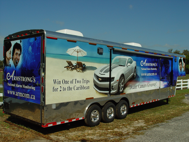 Trailer wraps in Tampa, Florida