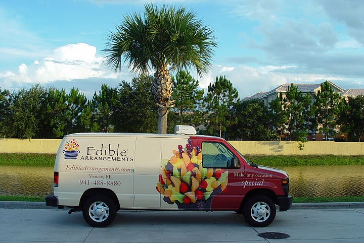 Van wraps for Edible Arrangements in Venice, FL