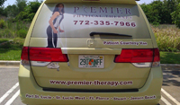 Van Graphic Wraps for Honda Odyssey in Port St Lucie, Florida