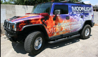 Custom Car Wrap California Hummer
