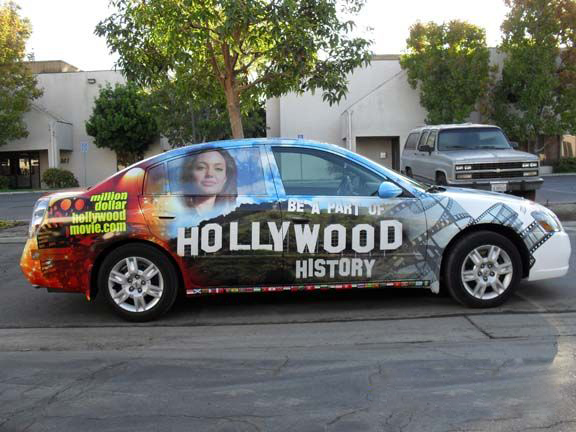 Full car wraps for hollywood Altima L.A