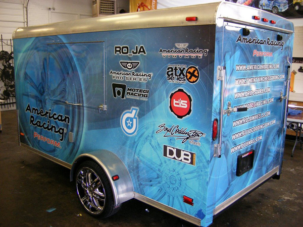 Vinyl Wraps for American Racing