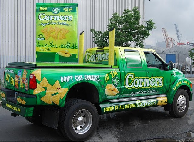 commercial Truck wraps for Ideal Snacks in New York-NY