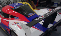 Vinyl Graphics Wraps for Daytona Prototype in Miami, Florida