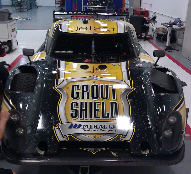 Custom Vinyl Wraps for Daytona Prototype in Miami, Florida