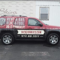 Dallas Jack Junkies SUV Wrap