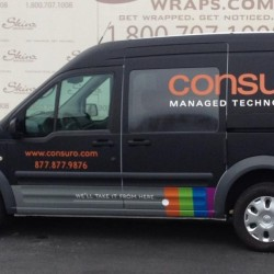 Consuro Van Wrap Dallas