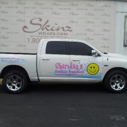 Sheridan's Sunshine Foundation Truck Wrap in Dallas