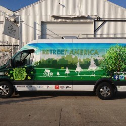 ReTREEt America Van Wrap Dallas