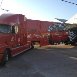 Dallas Honda Trailer Wrap