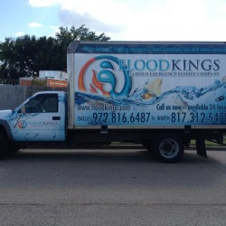 Truck Wrap For Flood Kings Dallas TX