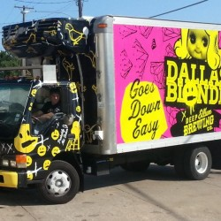 Deep Ellum Brew Co. Truck Wrap Dallas