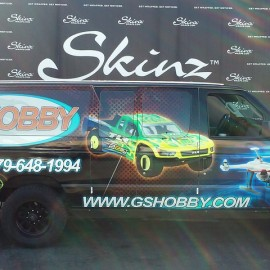 Van Wrap Graphics for GSHobby by Skinzwraps