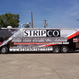 Custom bus advertising for your business