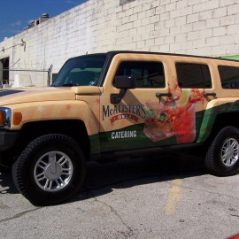 cost to wrap a hummer
