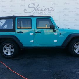 Jeep Color Wrap