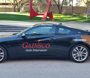 Gainsco Fleet Vehicle Wrap