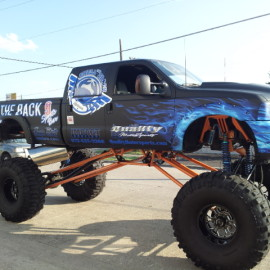 Monster truck wraps