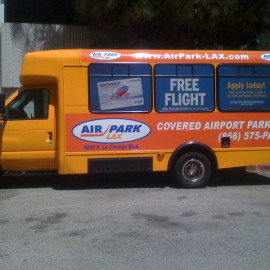 Air Park - Airport parking van