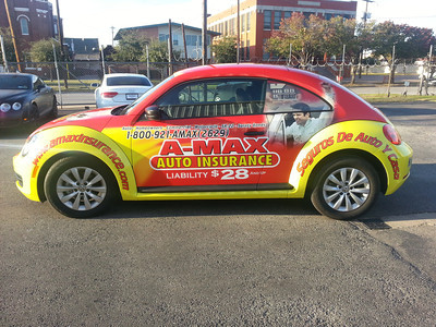 Amax Insurance Quote Custom Amax Insurance Vw Beetle Wrap  Skinzwraps