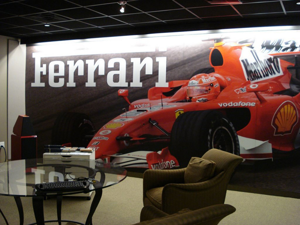 Awesome Boardroom Display Disgned And Installed For Boardwalk Ferrari ... Part 12