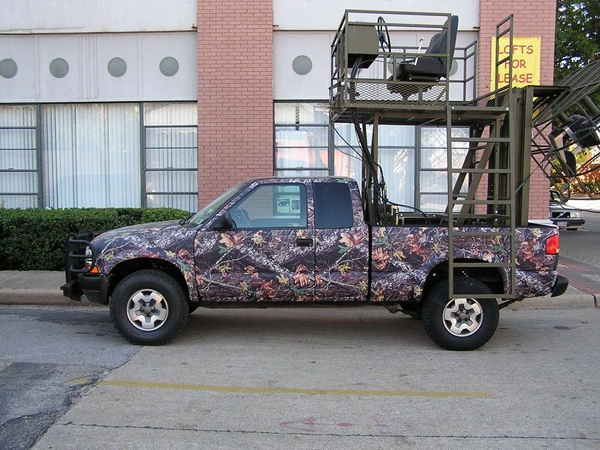 Camouflage Vehicle Wraps Vinyl Camo Graphics