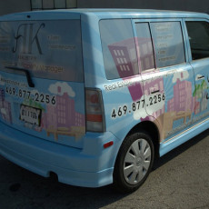 Car-wraps-on-a-Scion-XB-for-AK-Realty