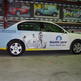 WellCare - Car wrap for businesses