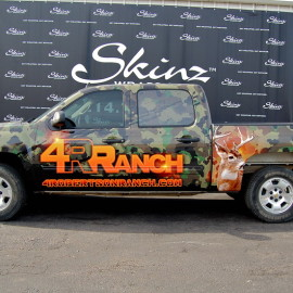 Truck Wrap and Truck Graphics by SkinzWraps