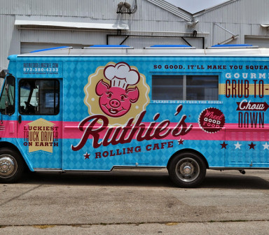 Ruthie's Food Truck Van Wraps by SkinzWraps