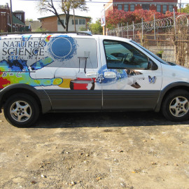 Custom vehicle wrap for vans