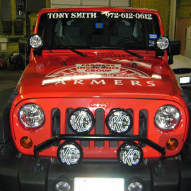 Farmers Jeep Car Wrap