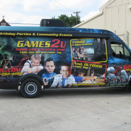 Mobile billboard for your van