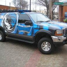 Dallas Mavericks SUV Wraps by SkinzWraps