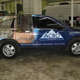 SUV Wrap for Acro Glass by SkinzWraps