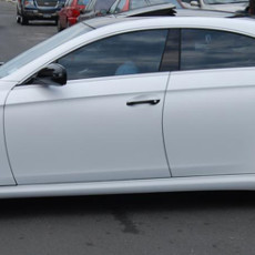 Satin-White-wraps-on-a-Mercedes-CLS-63-AMG-in-New-York-NY