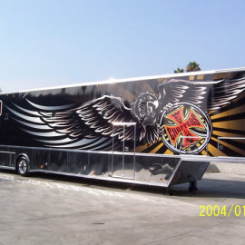 Trailer-wrap-installed-on-a-hauler-for-West-Coast-Choppers-in-California
