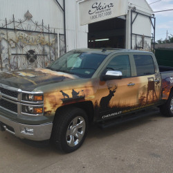 Truck wrap for Graphic Resource Group